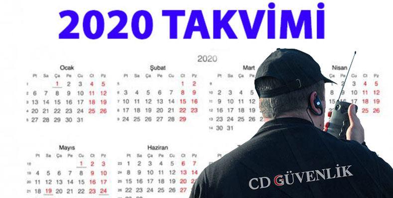 2020 Özel Güvenlik Sınav Tarihleri